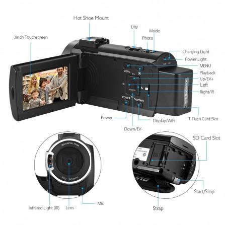 AV-CV449VIB óptica 3.6mm Gama 1080P (4 en 1) ir 20m