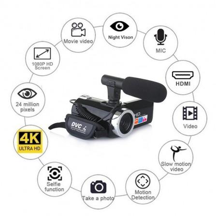 AV-KIT92 kit vigilancia con 4 cámaras domo de interior óptica 3.6mm 720P